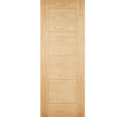 LPD Modica (Part L Compliant) Unfinished Oak External Door