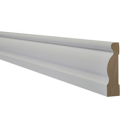 LPD Architrave Internal Primed White Ogee Internal Frames & Mouldings 2200 x 70 mm