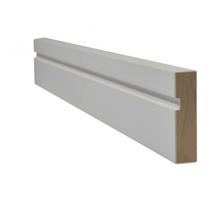 LPD Architrave Internal Primed White Single Groove Internal Frames & Mouldings 2200 x 70 mm