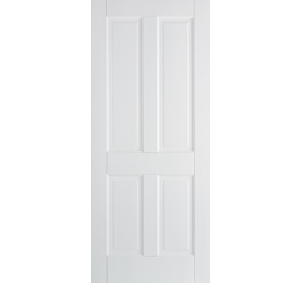 LPD Canterbury 4P Primed Solid White Internal Fire Door
