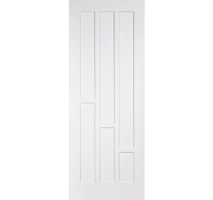 LPD Coventry White Solid Primed Internal Door