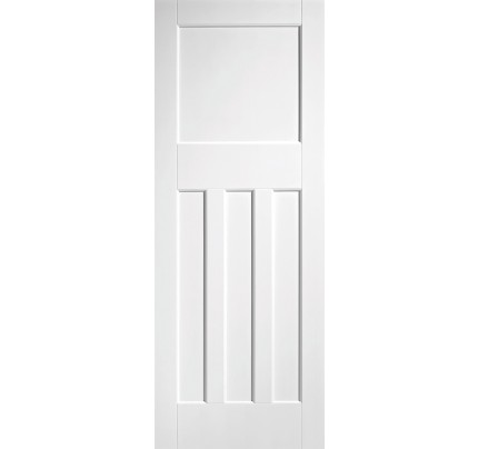LPD DX 30's Style White Primed Solid Internal Door