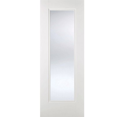 LPD Eindhoven Glazed White Primed Internal Door