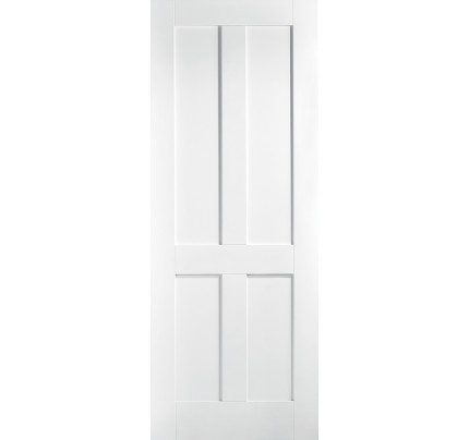 LPD London White Primed Internal Fire Door