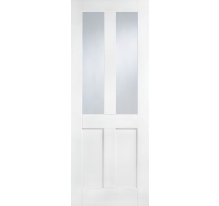 LPD London Glazed White Primed Internal Door