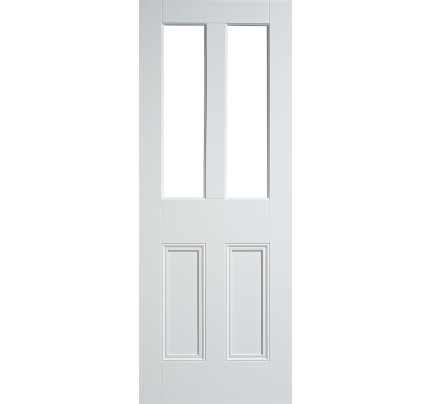 LPD Malton Unglazed White Primed Solid Internal Door