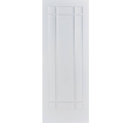 LPD Manhattan White Primed Internal Door