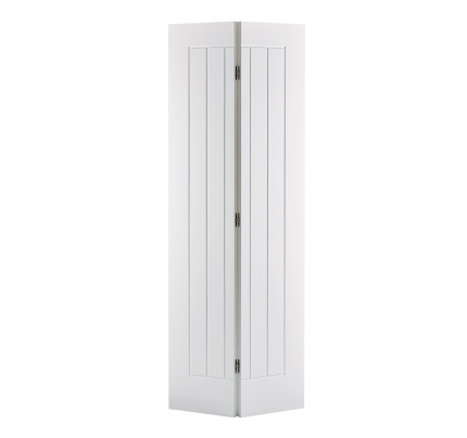 LPD Mexicano Bi-Fold White Primed Internal Door