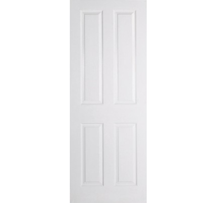 LPD Textured 4P White Moulded Internal Fire Door
