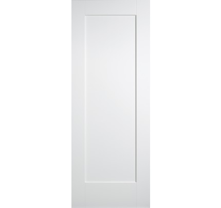 LPD Shaker 1P White Solid Primed Internal Door