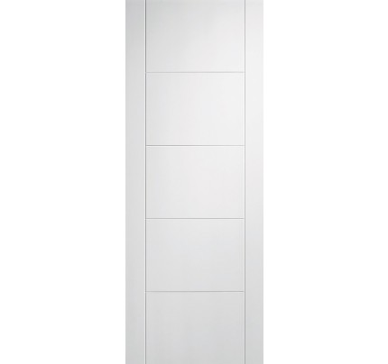 LPD Vancouver 5P White Solid Primed Internal Door