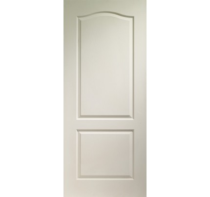 XL Joinery Classique 2 Panel Internal White Moulded Door