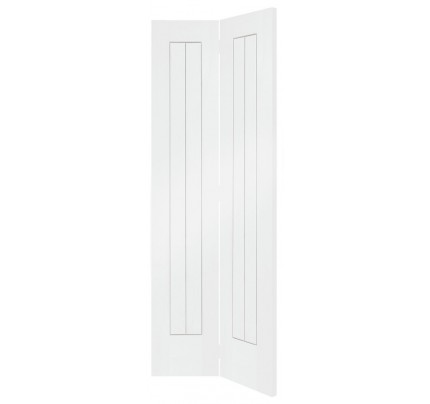 XL Joinery Suffolk Internal White Primed Bi-Fold Door