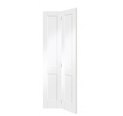 XL Joinery Victorian Shaker Bi-Fold Internal White PrimedDoor