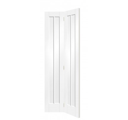 XL Joinery Worcester Internal White Primed Bi-Fold Door - 1936 x 379.5 x 35mm