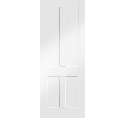 XL Joinery Victorian Shaker Internal White Primed Fire Door