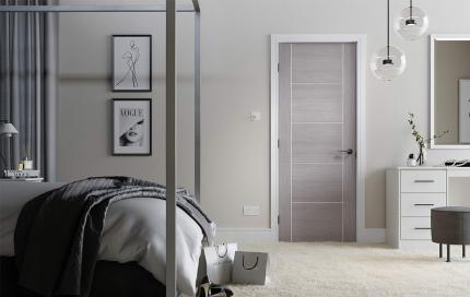 Internal Grey Doors